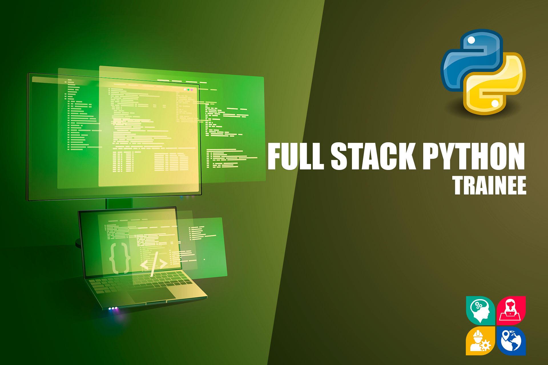 Desarrollador de Aplicaciones Full Stack Python Trainee